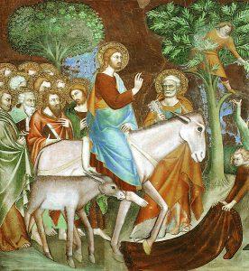 L'entrée à Jérusalem