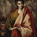 Saint Jean l'Évangéliste, Le Greco, — Museo del Prado, Madrid (The Yorck Project)